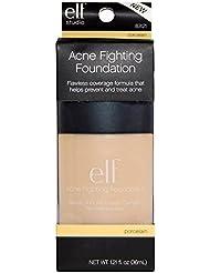 e.l.f. Acne Fighting Foundation, Porcelain, 1.21 Ounce