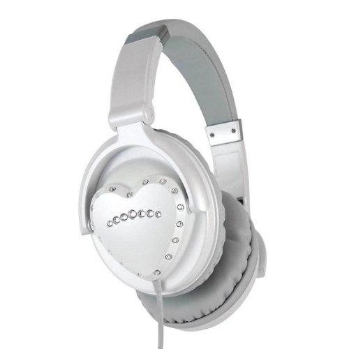 Vestax HMX-1 White Heart Shaped Headphones (B002M8BENA)  ddea7abe324e