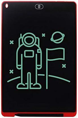 LKJASDHL 12インチ早期教育液晶ライティングボード描画ボード落書きメモ帳厚い手書きライティングボードブギーボード (色 : 赤)