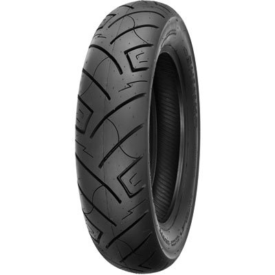 150/80B-16 (77H) Shinko 777 H.D. Rear Motorcycle Tire Black Wall for Harley-Davidson Dyna Low Rider FXDL 2002-2005