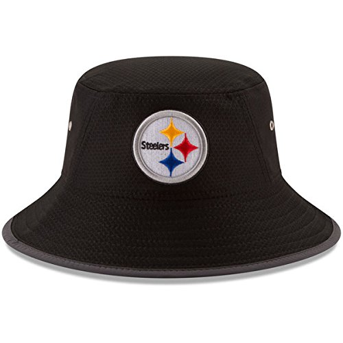 Pittsburgh Steelers Era 2017 Training Camp Official Bucket Hat - Black from New Era