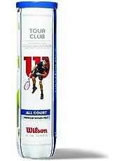 Wilson tennisballen, Champ Extra Duty, 4-delige doos, voor alle bekledingen