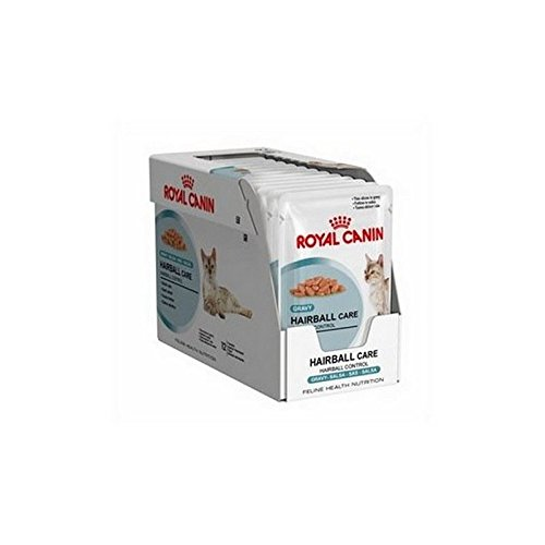 Royal Canin Hairball Care in Gravy Cat Food Pouch 12 x 85g (1.02kg) by Royal Canin