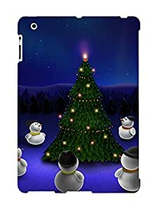 Fashionable Style Case Cover Skin Series For Ipad 2/3/4- Waiting For The Christmas