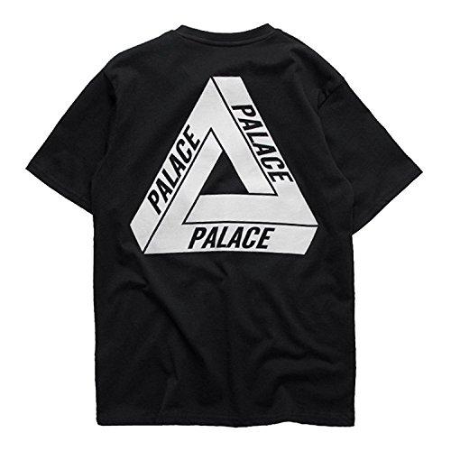 96055f8b406884 Robeni Men s Black Hip Hop Palace Skateboard Sport T Shirt