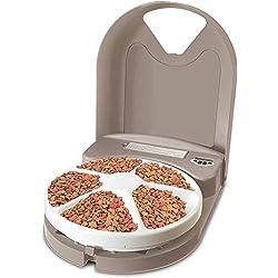 Alimentador automático para perros y gatos PetSafe, dispensa comida para perros o gatos, reloj digital