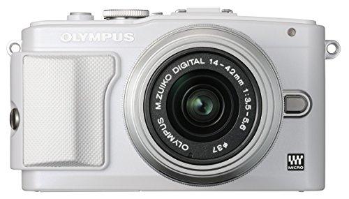オリンパス ペンライト EPL6 ホワイト レンズキット M.ズイコー デジタル1442mm F3.55.6 II R