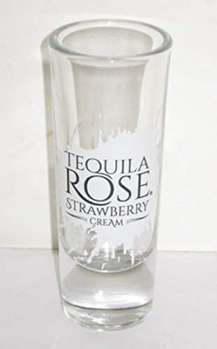 (Tequila Rose Strawberry Cream Shot Glass by Tequila Rose)