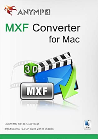 AnyMP4 MXF Converter for Mac - Convert MXF video to MP4, MOV