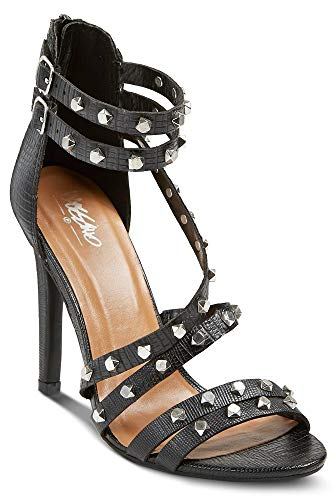 Mossimo Women's Dallas Pumps Black with Chrome Studs (6, Black)