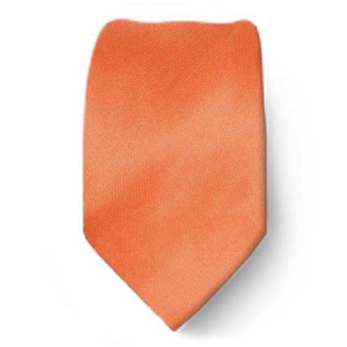 B-ADF-44 - Boys Solid Coral Tie