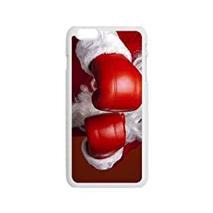 Santa's Boxing Glove Hight Quality Plastic Case for Iphone 6 by icecream design
