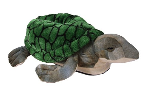 Happy Feet 9008-5 - Turtle - XX Large Animal Slippers -