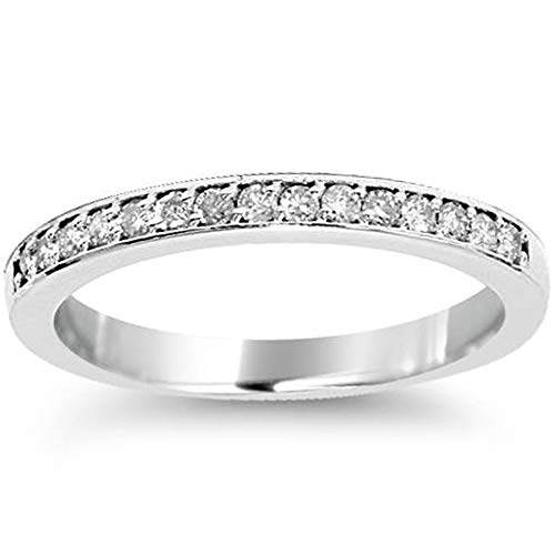 1/4ct Diamond Ring in 14k White, Yellow, or Rose Gold - Size 5 ()