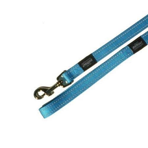 ROGZ Snake Reflective Lead, Medium, 16 mm - 1.4 m, Turquoise