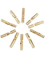 Meubelhardware scharnier 10st 30 * 5 mm Pure Koper Messing Conceal Scharnieren Jewelry Box Verborgen Invisible Barrel Scharnier for Furniture Fijn Bewerkt Mechanismen