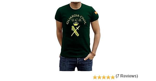 Piel Cabrera Camiseta Guardia Civil UCO: Amazon.es: Ropa y accesorios