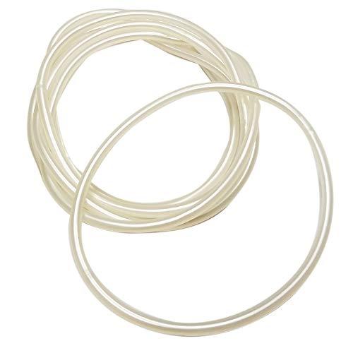 Novelty Kings Rubber Spirit Bracelets 144 pc Pack (Pearl)