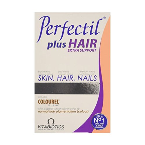 (Vitabiotics Perfectil Plus Hair 60Tabs (2 Pack) )
