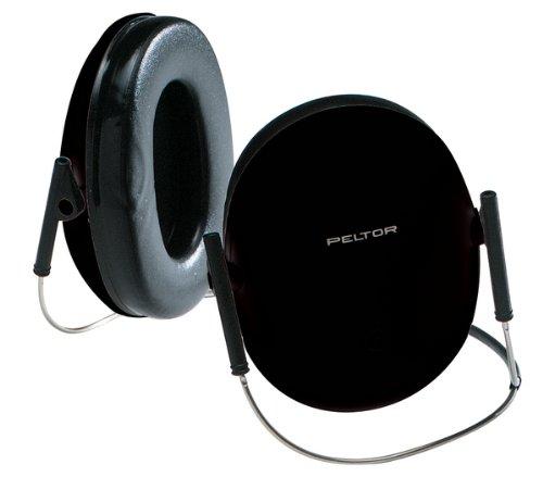 Peltor Shotgnnr Shotgunner Behind-Head Hearing Protector Black Nrr 19db Foam Cushions