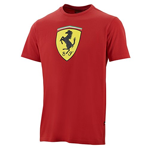 ferrari-red-classic-shield-t-shirt-large
