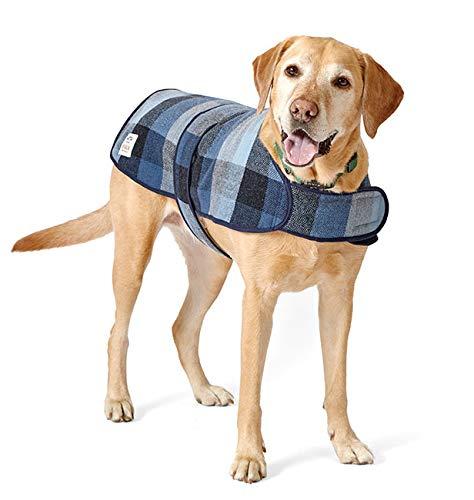 Orvis Irish Tweed Dog Coat, Blue/Gray, Medium