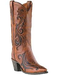 Dan Post Womens Inlay Western Boot - Dp3256