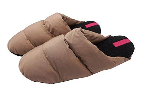 Mwfus Mens & Womens Premium Indoor House Winter Cotton Slipper Beige VZwjDMw8km