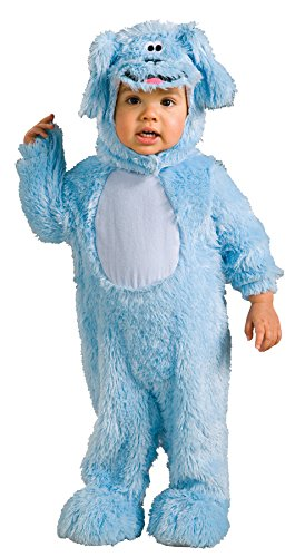 [UHC Boy's Blues Clues Romper Toddler Tv Character Fancy Dress Halloween Costume, 2T-4T] (Blues Clues Costumes Toddler)