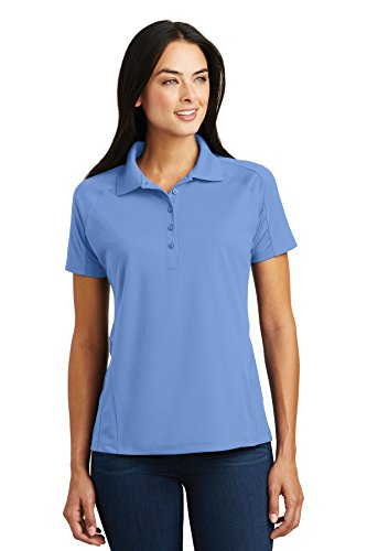 - Sport-Tek Ladies Dri-Mesh Pro Polo. L474 Carolina Blue XL