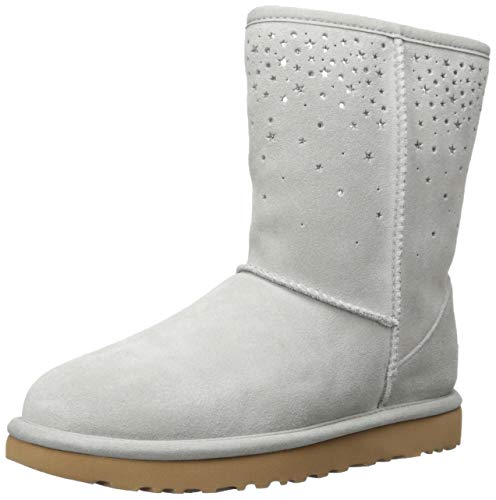 (UGG Women's W Classic Short STARGIRL Fashion Boot, Seal, 7 M US)