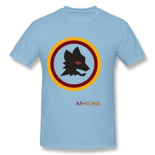 Os Club Roma Halloween (Men's A S AS Roma Wolf Short Sleeve T-shirt Size XL)