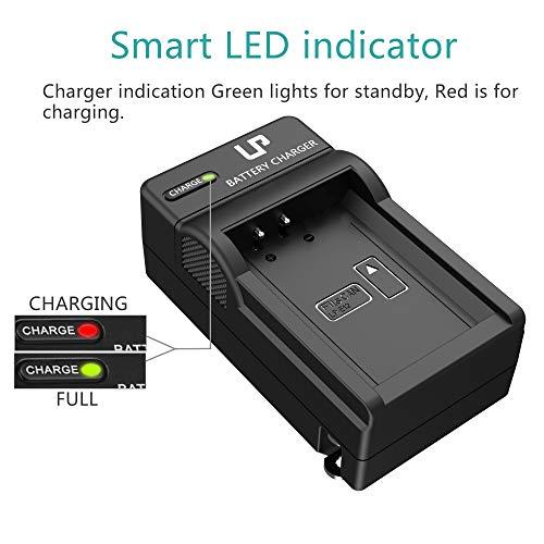 LP-E12 Battery Charger, LP Charger Compatible with Canon EOS M100, M50, M10, M2, M, Rebel SL1, 100D, PowerShot SX70 HS, Kiss M, Kiss X7 & More