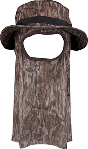 Drake Waterfowl Ol' Tom Technical Turkey Gear Big Bob Boonie Hat Mossy Oak Bottomland (Large)