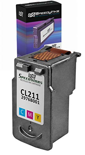 SpeedyInks Canon CL-211 Color Remanufactured Inkjet Cartridge - Canon Remanufactured Inkjet Cartridge