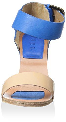 Fiel Womens Kea Ankle-Strap Sandal Nude/ Blue Fvz0KIDi