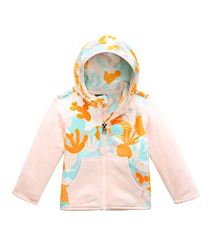- The North Face Kids Unisex Glacier Hoodie (Infant) TNF White Cactus Mix Print 3-6 Months