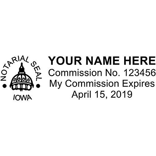 Iowa Stamps (Iowa Standard Notary Stamp)