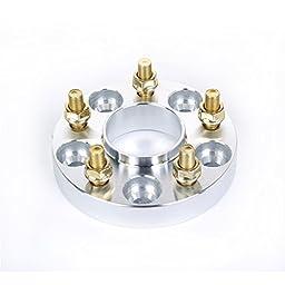 KSP 4pcs Hubcentric lip Wheel Spacers Adapters 1\'\' Inch 25mm 5x114.3 to 5X4.5 66.1 CB 12X1.25 for Nissan Infiniti FX35 F45 FX50 G35 G37 350z 370z 300zx 240sx I30 I35 Altima Maxima