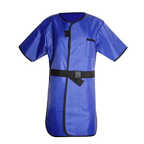 X-Ray Protection Apron,Fencia Flexible X-Ray Protective Cloth Lead Radiation Protection Apron Gel Coat 0.35mmpb Blue
