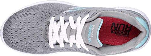 Skechers Go Run 400, Zapatillas de Deporte Exterior para Mujer Gray, Blue