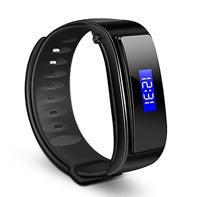 YY FX-3 Smart Wristband Bluetooth Earphone Answer Call Anti-lost