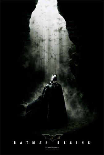 Batman Begins New Movie Poster - BATMAN BEGINS POSTER In a Cave RARE HOT NEW 24X36