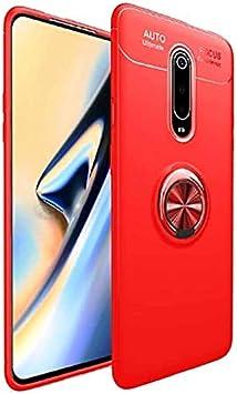 Teleplus for Xiaomi Mi9T Case Ravel Ringed Case Red: Amazon.es ...