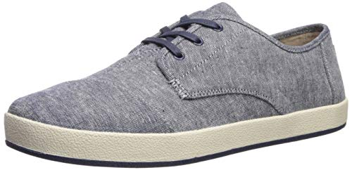 aker Navy slub Chambray 10 Medium US ()