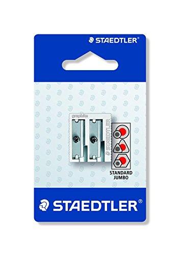 Staedtler 510 20 BKD Temperamatite, 2 Fori, Metallo 510 20 BKDST
