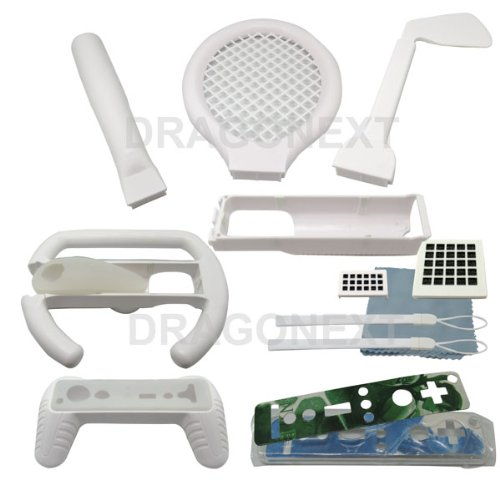 15 In 1 Sports Pack Accessory For Nintendo Wii Games