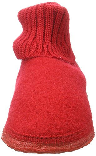 Rouge Giesswein Doublé Kramsach Mixte Chaussons Enfant Chaud Montants rot WUwq0Bx4U