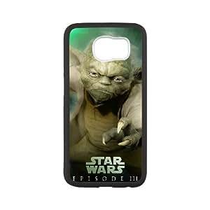 star war Samsung Galaxy S6 Cell Phone Case Black yyfabd-366383