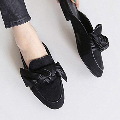 b5f8ee36dc4 Chaussures Pour Femmes Fankou L automne Et L hiver Style De Rue De Cravate